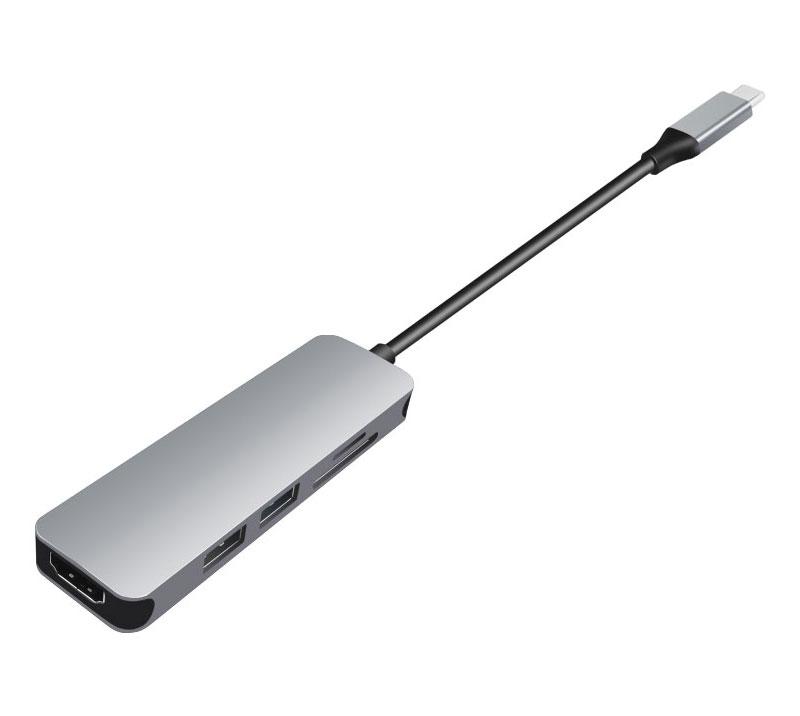 5口USB-C扩展坞(现货芯片)