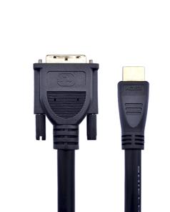 posh-e普旭2米HDMI转DVI高清线