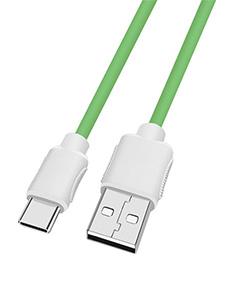 柔软硅胶USB数据线Type-C